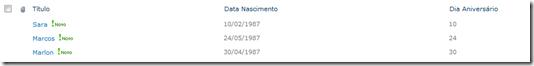Colunas Calculadas em listas do SharePoint - Parte I (5/5)