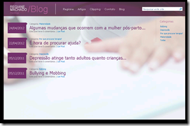 Exemplo Site Público SharePoint Online (3/4)