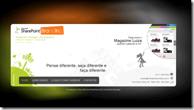 Exemplo Site Público SharePoint Online (4/4)