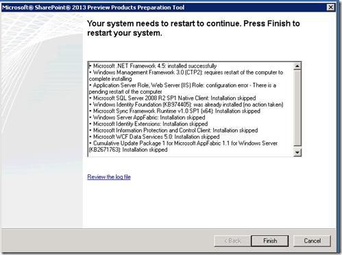 Instalando SharePoint Server 2013 Preview (4/6)