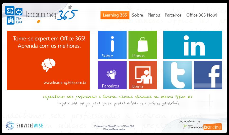 Exemplo Site Público SharePoint Online – Sara Barbosa