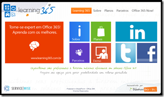 Exemplo Site Público SharePoint Online (1/6)