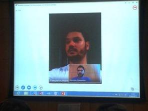 Videoconferência Lync 2013 - Andreazi e Mauricio