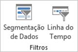 Guia Inserir Excel - Extensão do Grupo Filtros