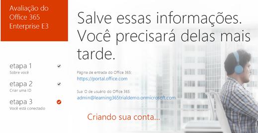 Trial Office 365 – Nova Interface (5/6)