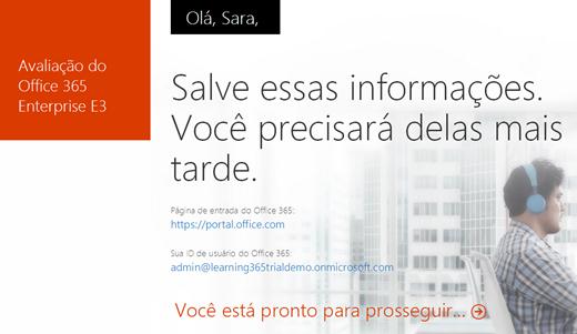 Trial Office 365 – Nova Interface (6/6)