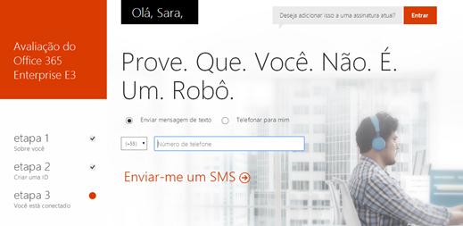 Trial Office 365 – Nova Interface (3/6)