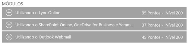 MVA – Treinamento: Usabilidade Office 365