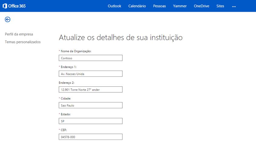 Alterar logotipo Office 365 (3/4)